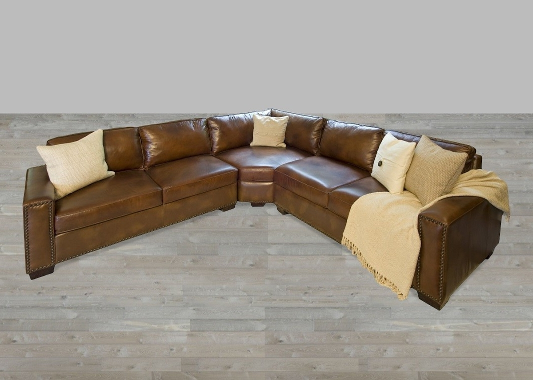Sectional Sofas With Nailheads For Most Recently Released Best Nailhead Sectional Sofa 48 With Additional Sofas And Couches (View 11 of 20)
