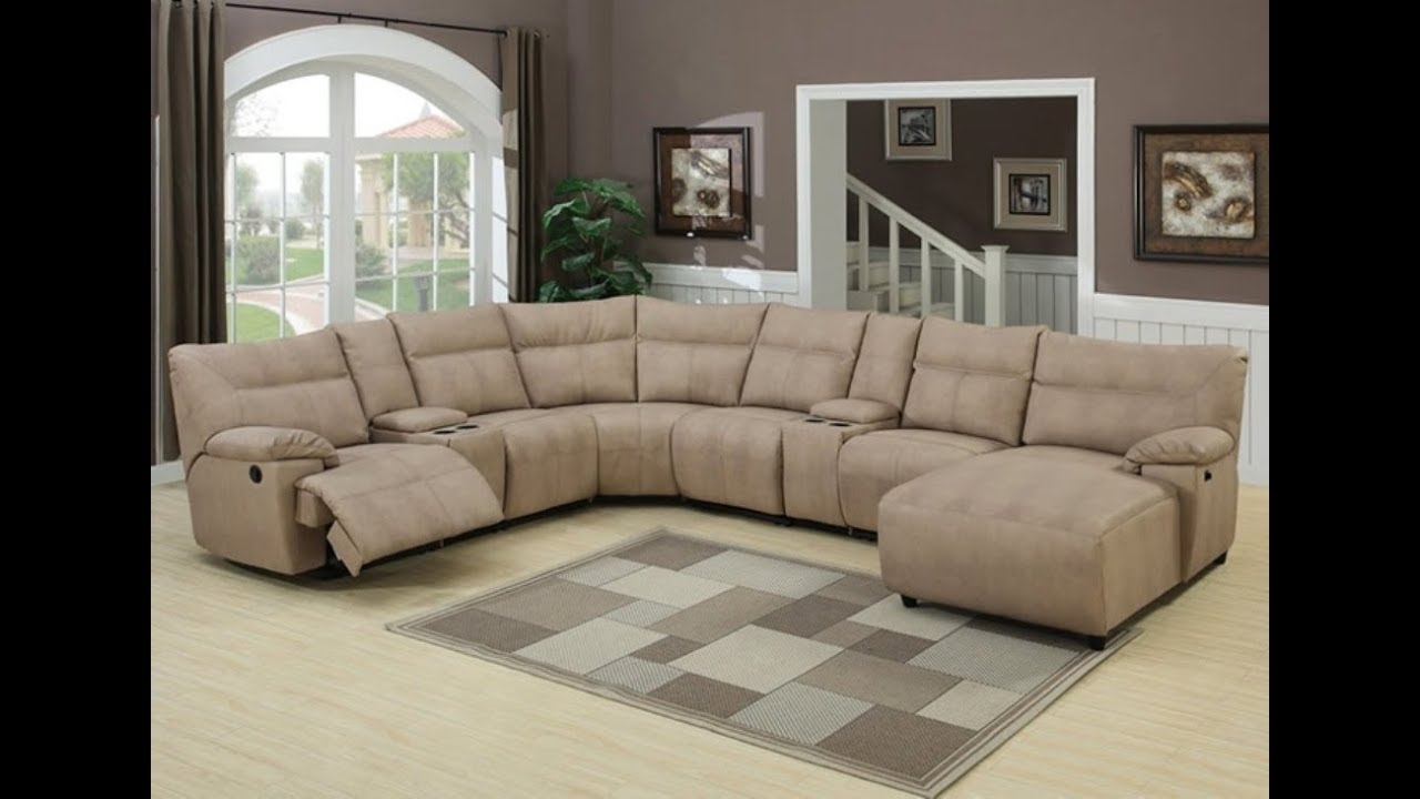 Sectional Sofas With Recliners And Chaise – Youtube Within Most Recent East Bay Sectional Sofas (View 10 of 20)