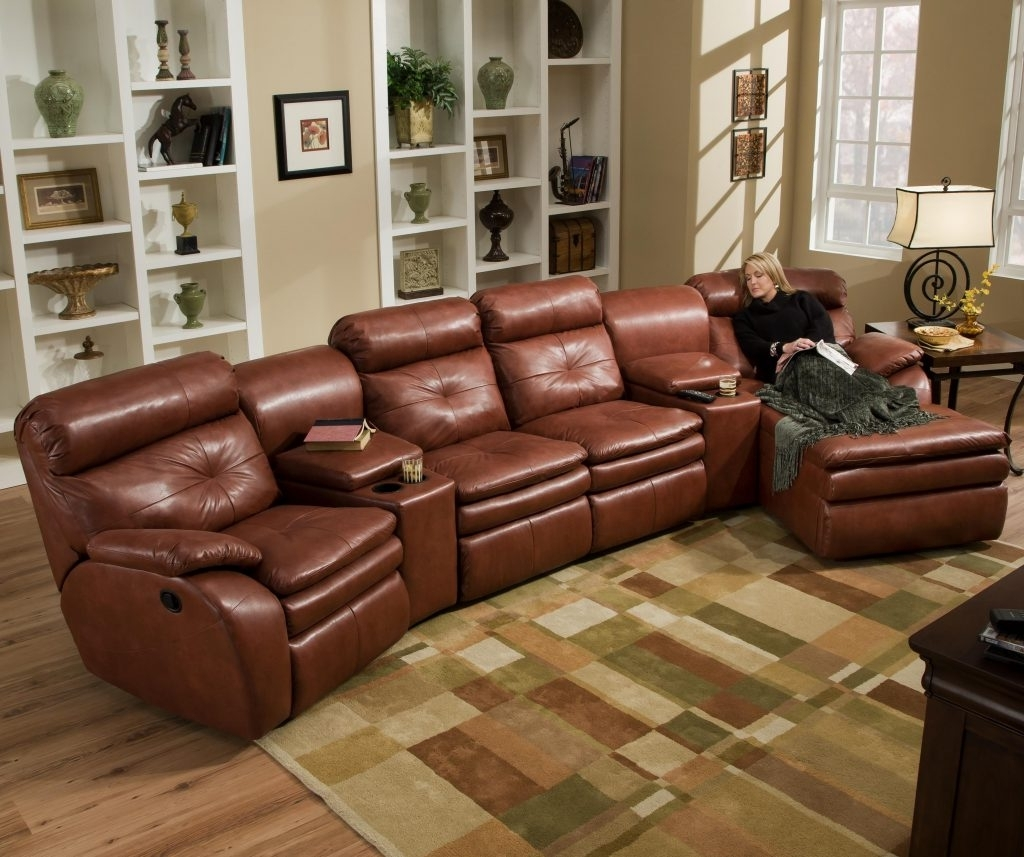 Sectional Sofas With Recliners For Small Spaces Inside Well Known Sectional Sofas With Recliners Oversized Sofa For Small Spaces (View 14 of 20)