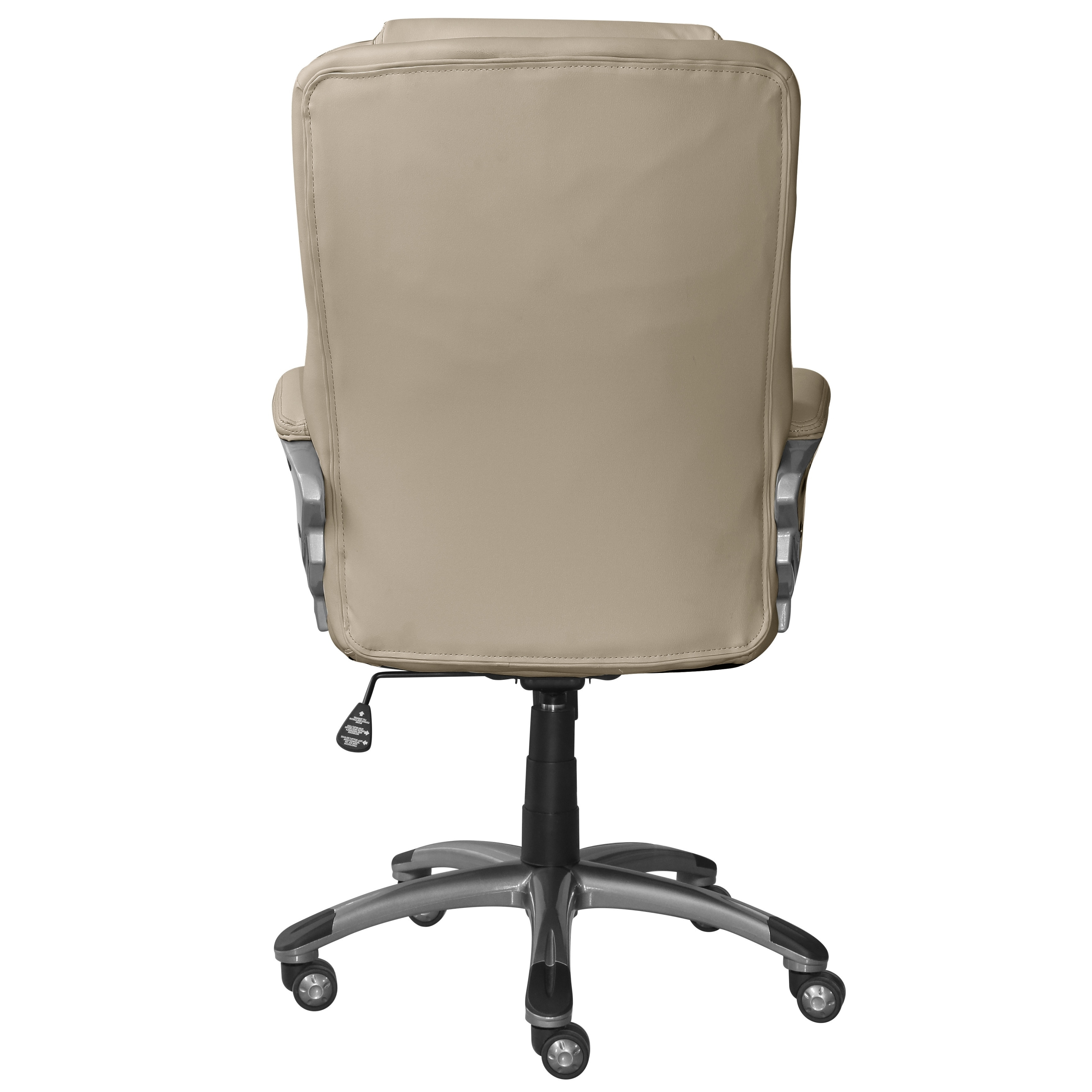 Serta Works Bonded Leather Executive Office Chair – Free Shipping Within Fashionable Light Beige Microfiber Executive Office Chairs (View 6 of 20)