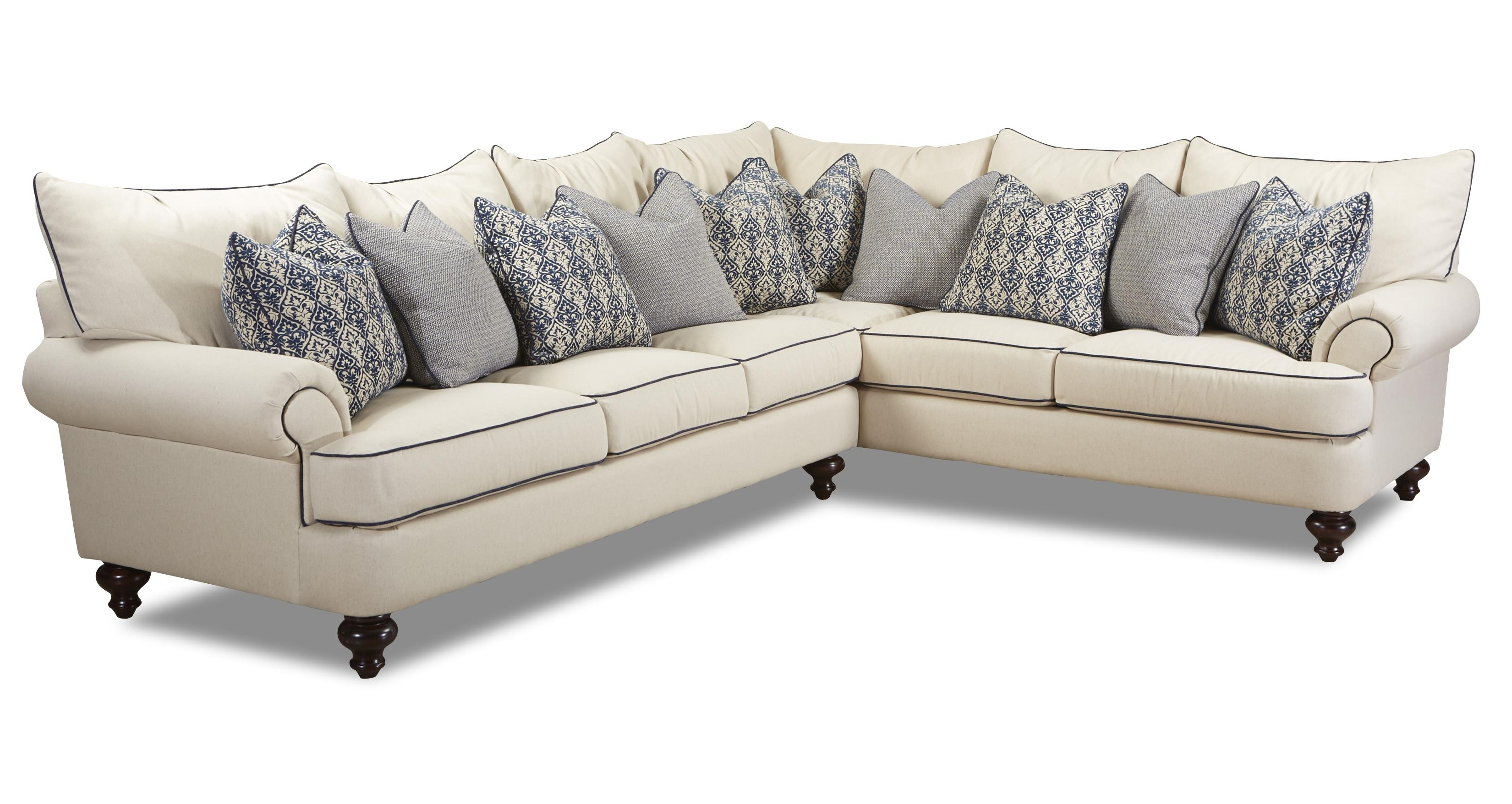 Shabby Chic Sectional Sofaklaussner (View 10 of 20)