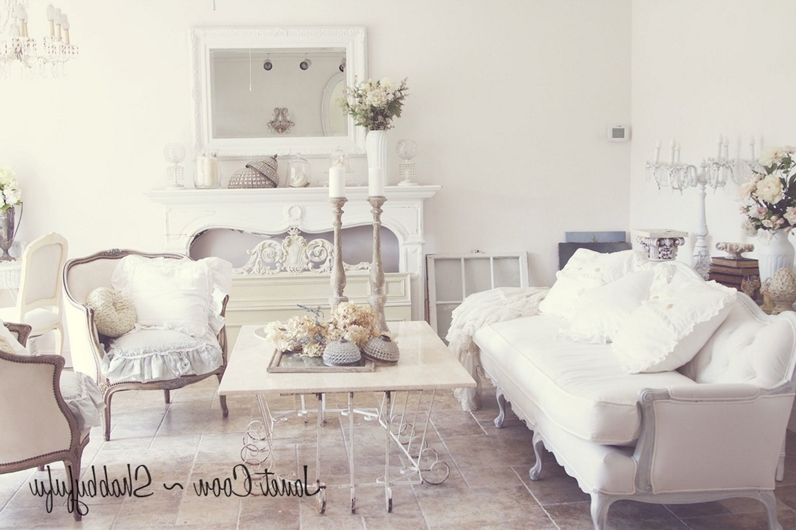 Shabby Chic Sofas For Best And Newest Shabby Chic Sofas Living Room Furniture (View 11 of 20)
