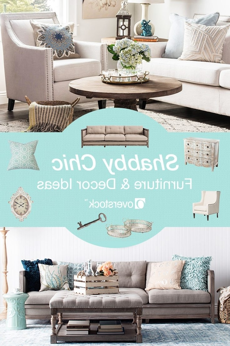 Shabby Chic Sofas Inside Newest Beautiful Shabby Chic Furniture & Decor Ideas  Overstock (View 12 of 20)