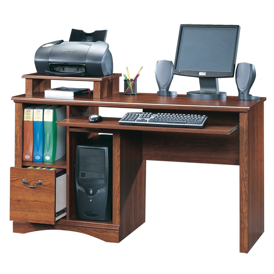 Shop Sauder Camden County Country Computer Desk At Lowes Regarding Newest Computer Desks At Lowes (View 15 of 20)