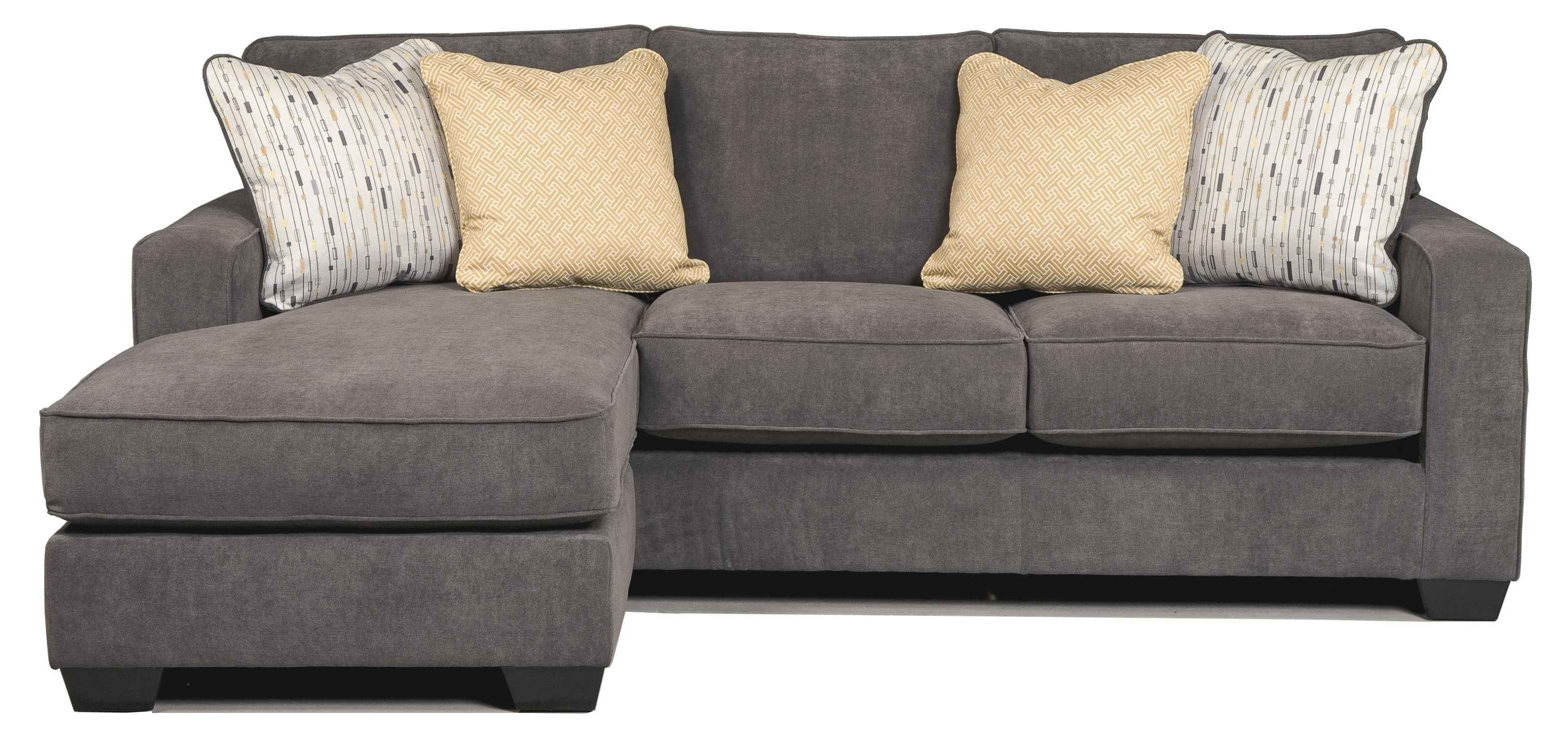 Signature Designashley Hodan – Marble Contemporary Sofa Chaise With Well Known Clarksville Tn Sectional Sofas (View 18 of 20)