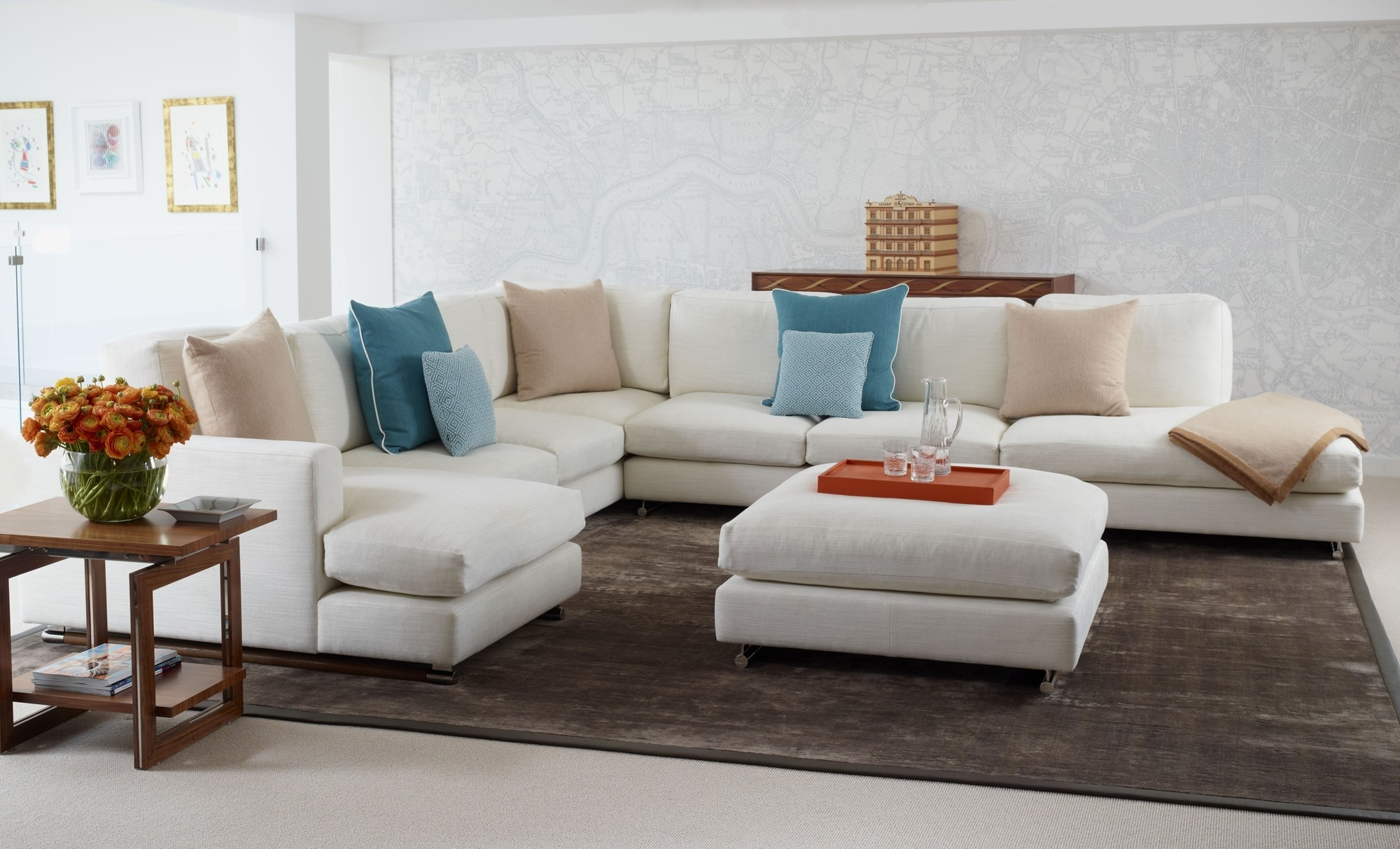 Simple Modular Sectional Sofa Bed Idea Hd Wallpaper Images Awesome Intended For Favorite Modular Sectional Sofas (View 14 of 20)