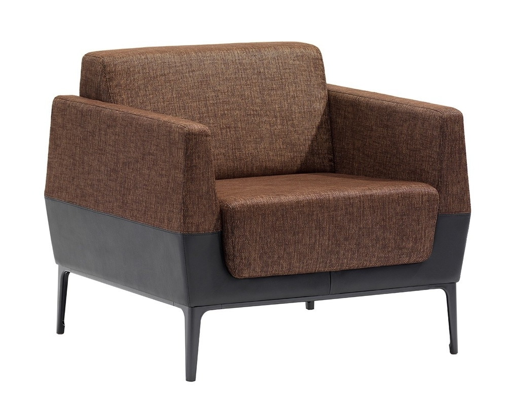 Single Seat Sofa Chairs In Widely Used Visalia Collaborative & Contemporary Lounge Seating (View 9 of 20)