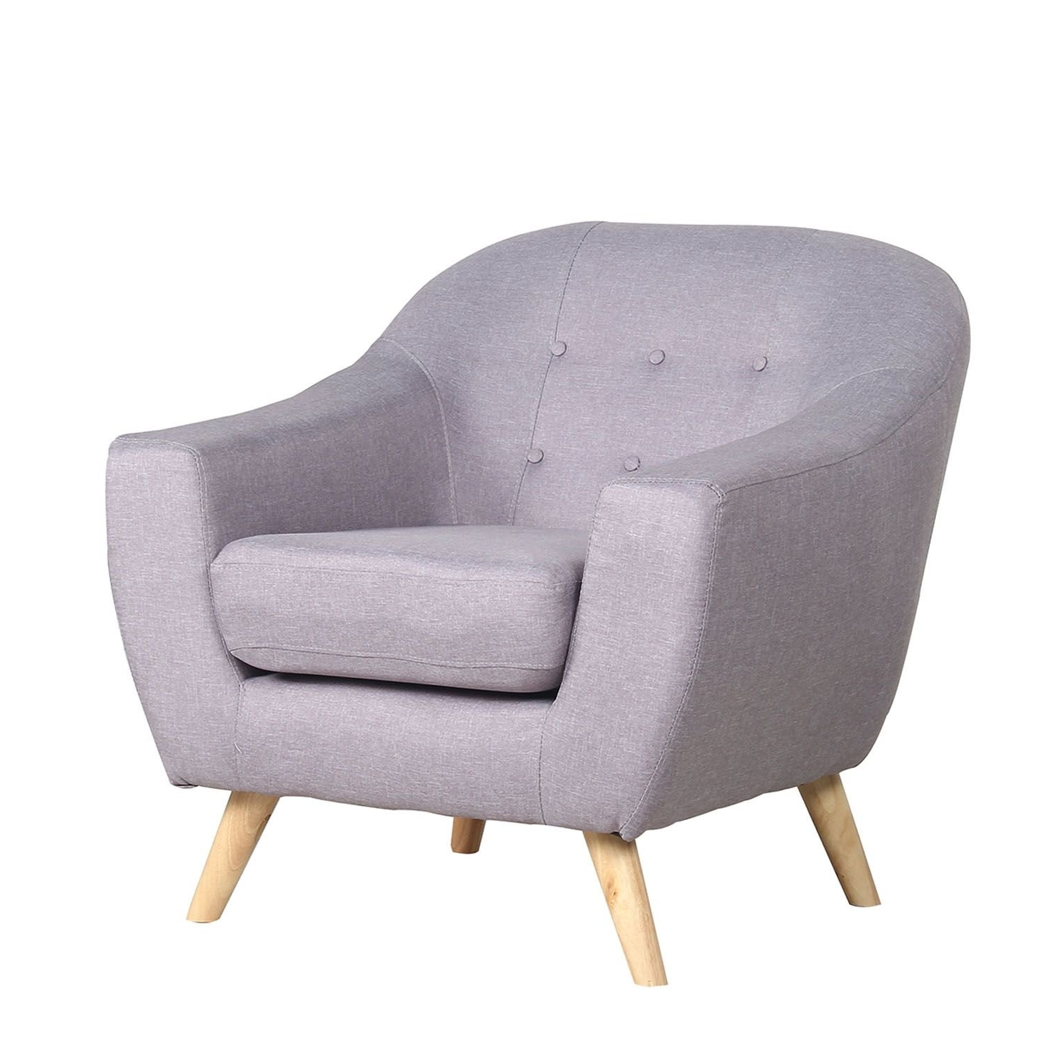 Single Seat Sofa Chairs Intended For Recent One Seater Sofa, A Combination Of Design & Comfort (View 6 of 20)