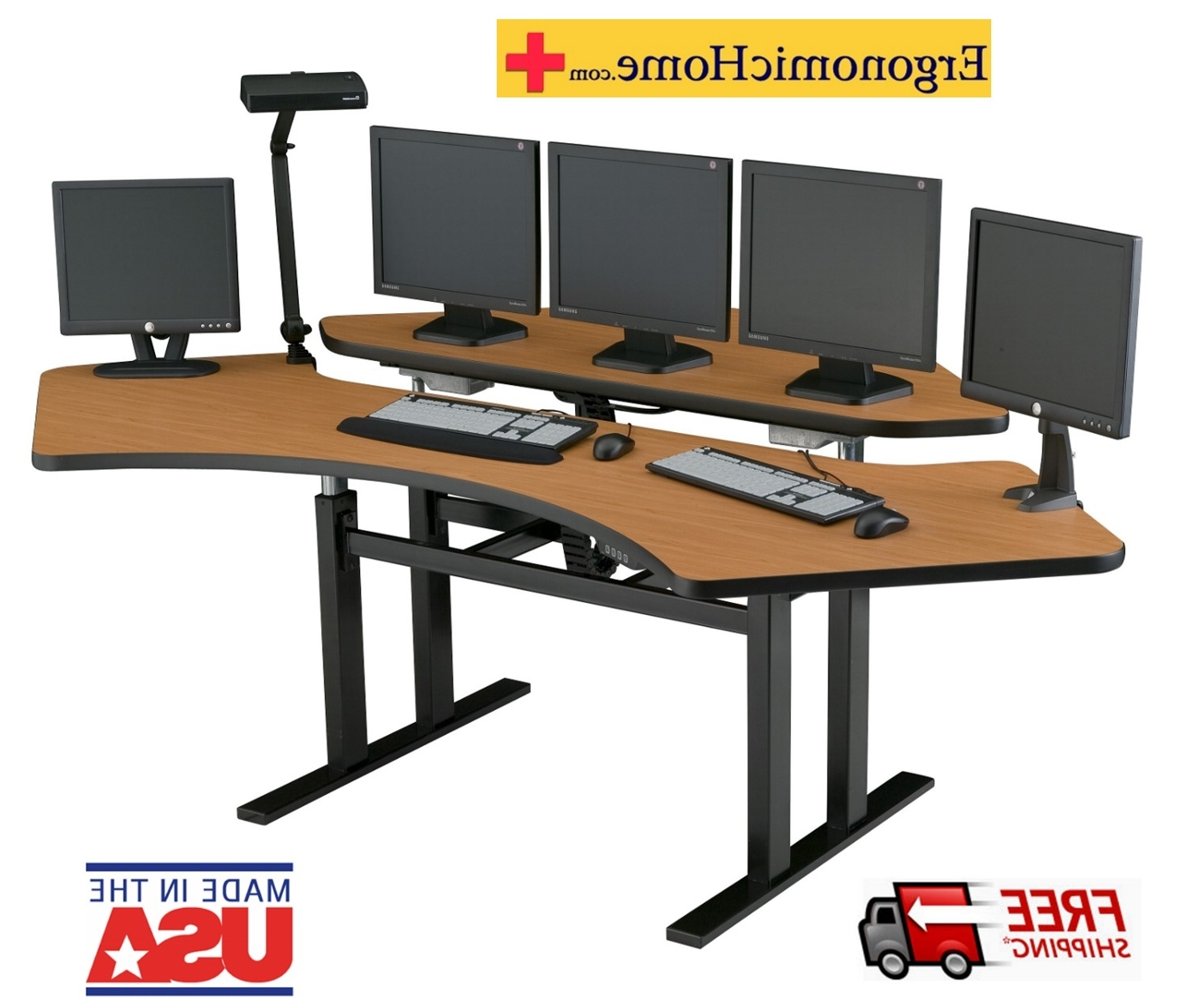 Sit Stand Desk (View 4 of 20)