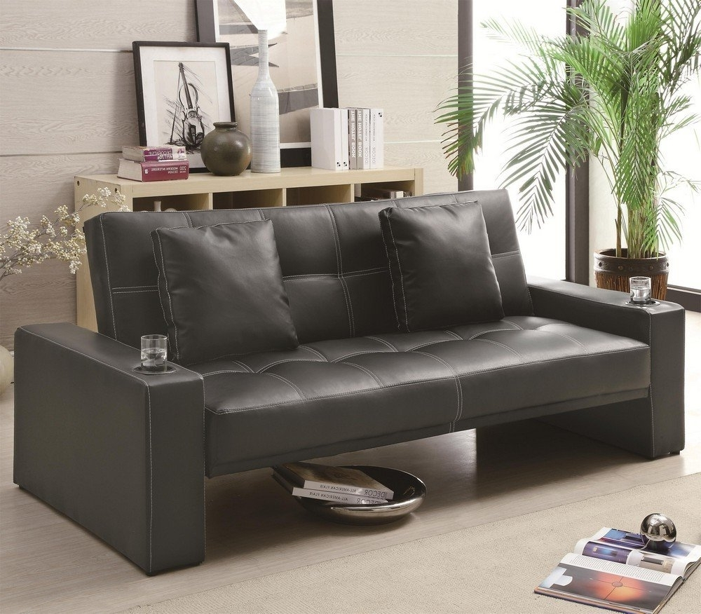 Sleeping, Sectional And Leather For Sectional Sofas That Turn Into Beds (View 17 of 20)