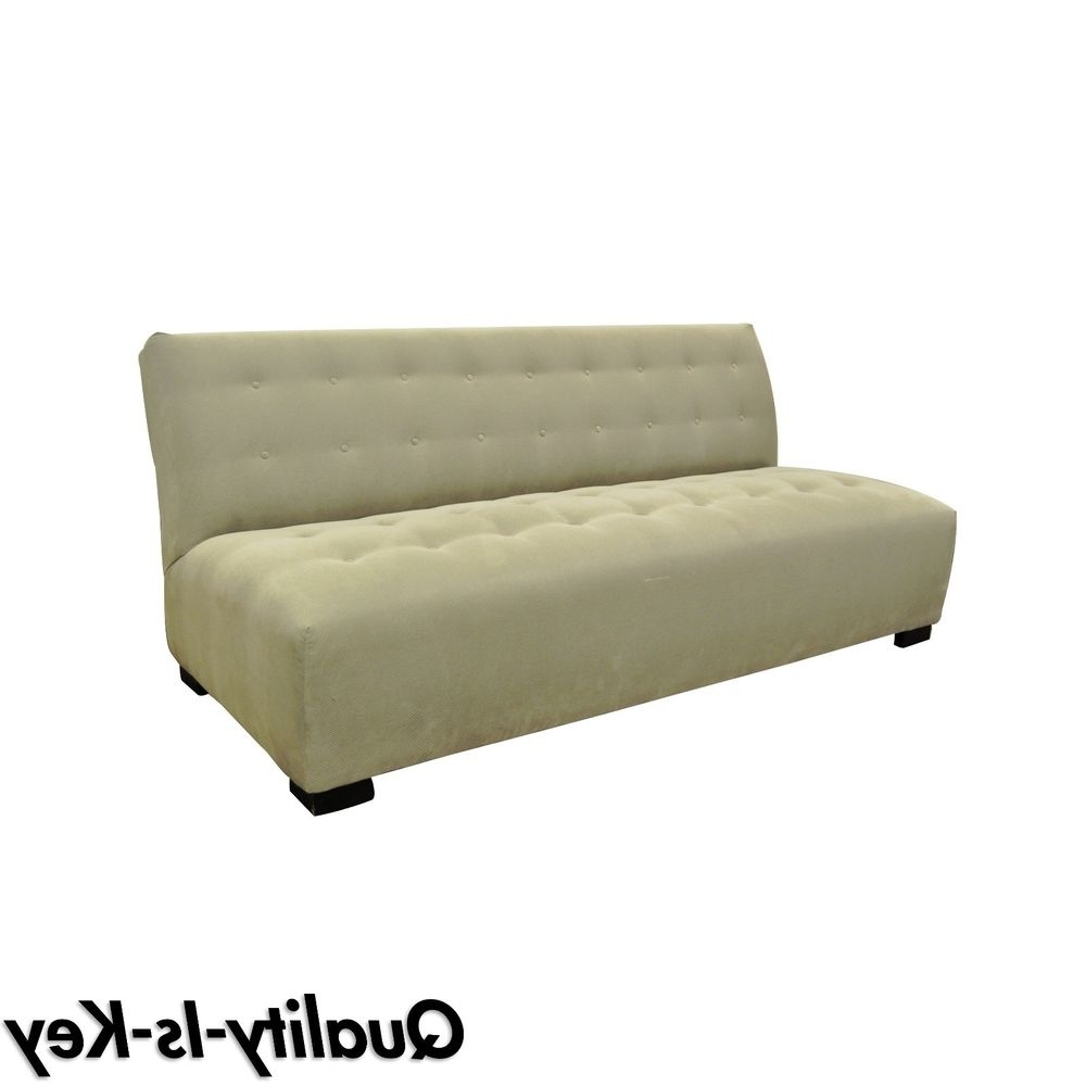 Small Armless Sofas Throughout Newest Armless Sofa (View 16 of 20)