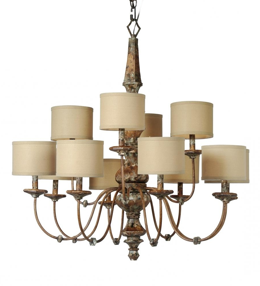 Small Chandelier Lamp Shades Pertaining To 2018 Chandeliers Design : Marvelous Zoom Mini Chandelier Shades Dolan (View 18 of 20)