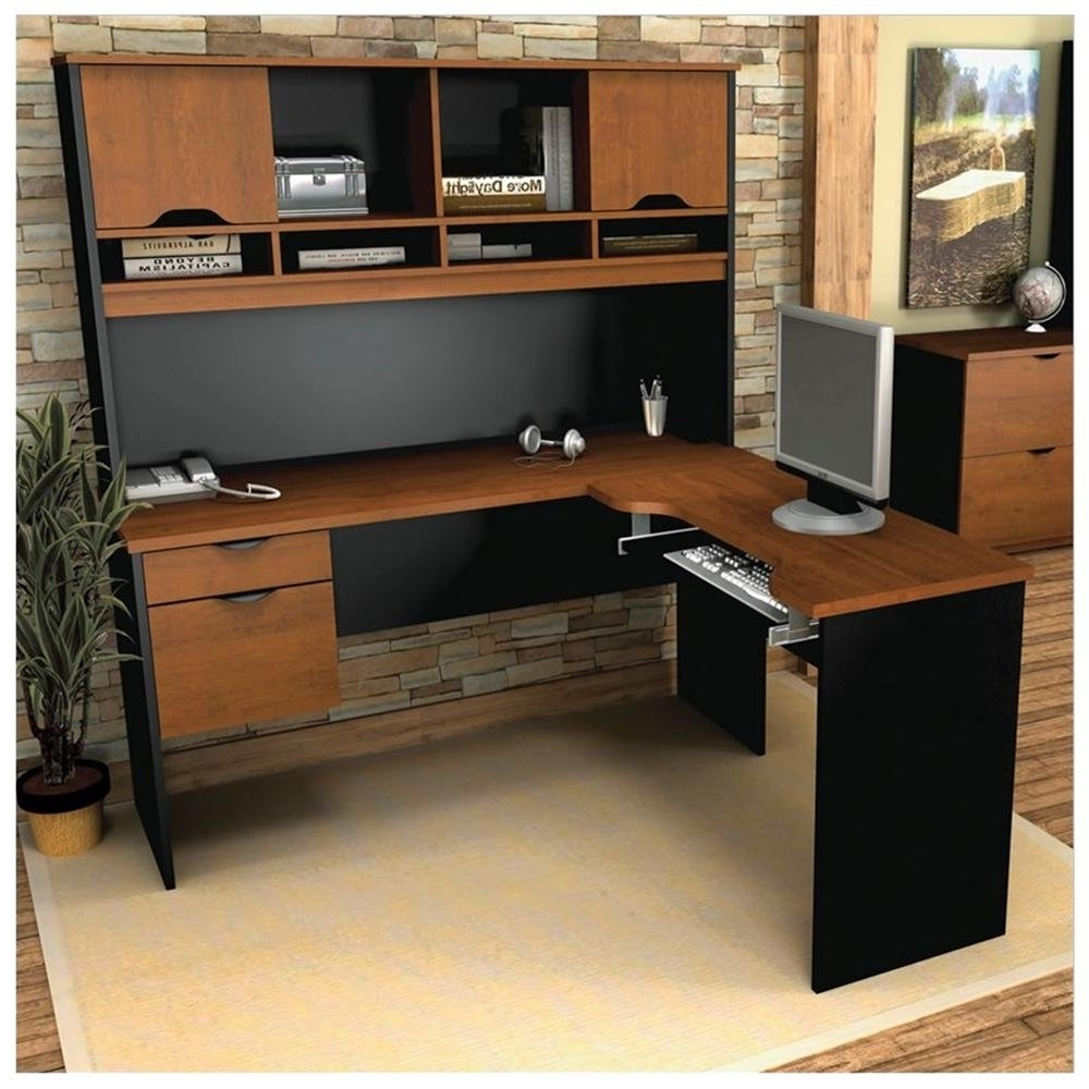 Small Corner Desk With Hutch And Drawers — Dans Design Magz Regarding Latest Japanese Computer Desks (View 3 of 20)