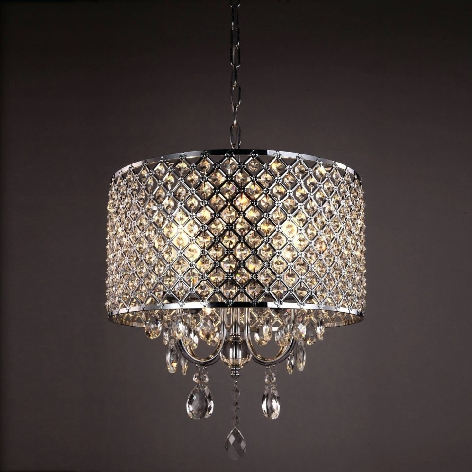 Small Crystal Chandelier Table Lamps Inside Well Known Lighting : Crystal Chandelier Table Lamp Lamps Best Of Small Style (View 9 of 20)