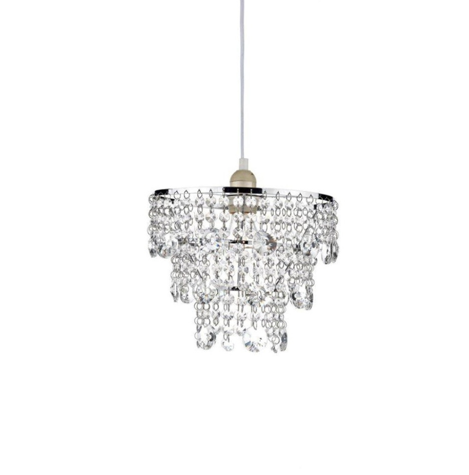 Small Crystal Chandelier Table Lamps Intended For Most Popular Decoration Ideas Beautiful Mini Chandelier With Crystal Glass Beads (View 19 of 20)