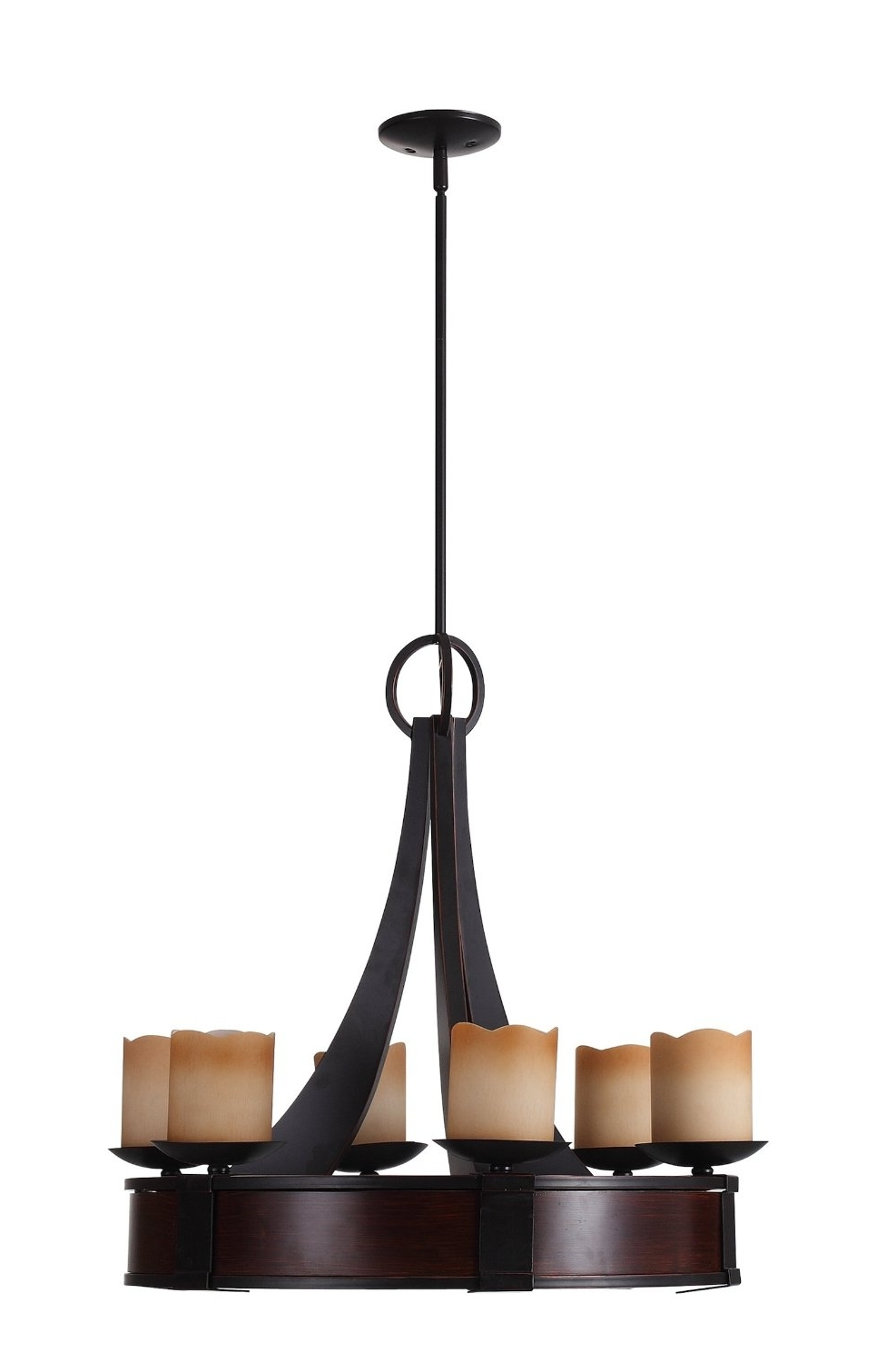 Small Rustic Chandeliers With Regard To Well Known Chandeliers Design : Awesome Modern Wrought Iron Chandeliers Spanish (View 16 of 20)