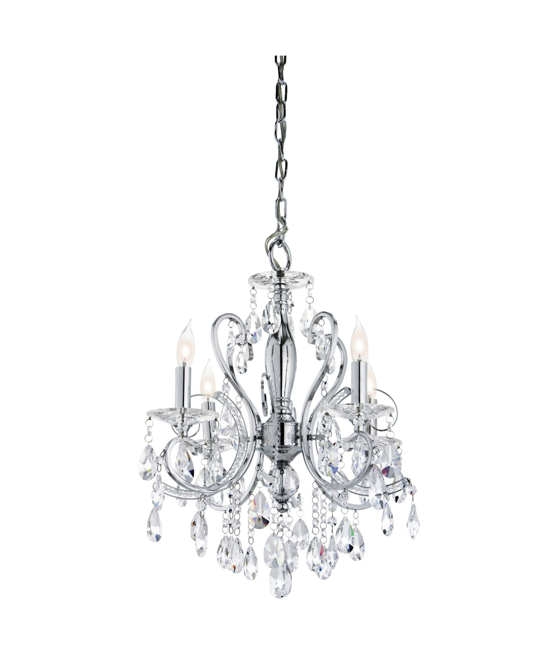 Small Rustic Crystal Chandeliers Pertaining To Most Current Nice Mini Chandelier For Bathroom #7 Mini Crystal Chandelier (View 16 of 20)