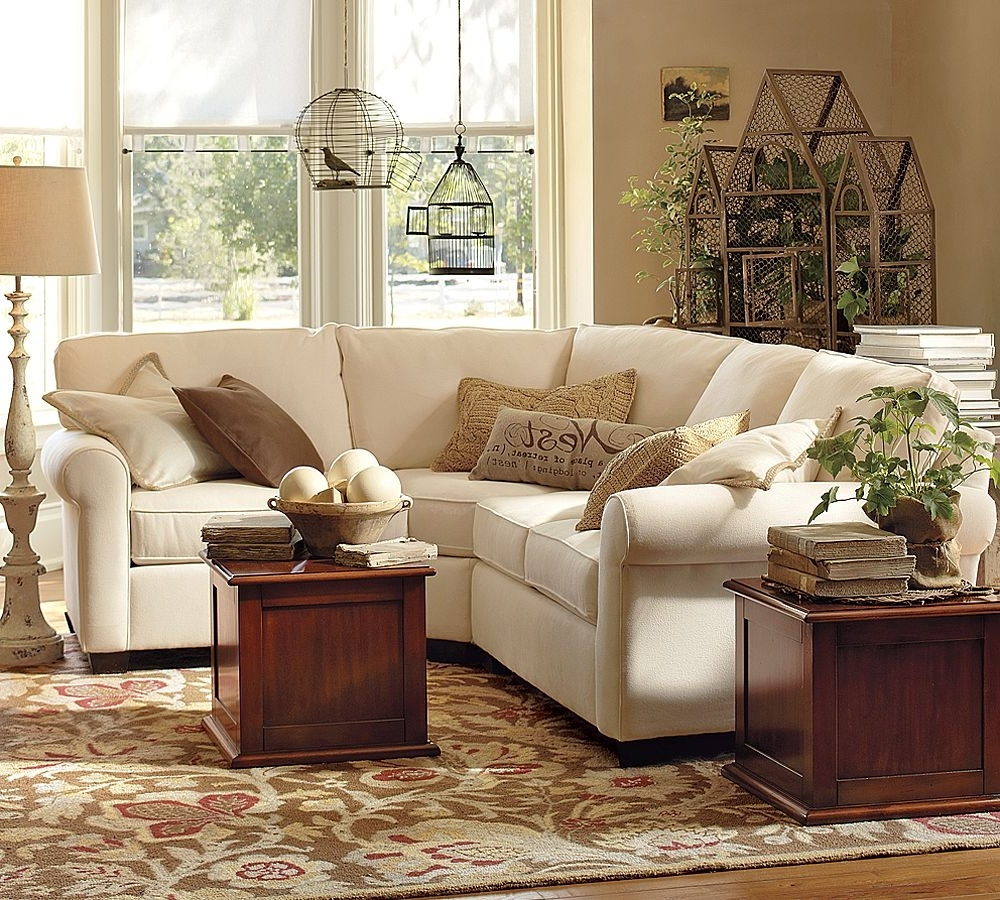 Small Sectional Sofa Pottery Barn Inside Famous Pottery Barn Sectional Sofas (View 16 of 20)