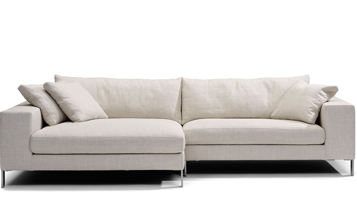 Small Sectional Sofas For Current Plaza Small Sectional Sofa – Hivemodern (View 5 of 20)