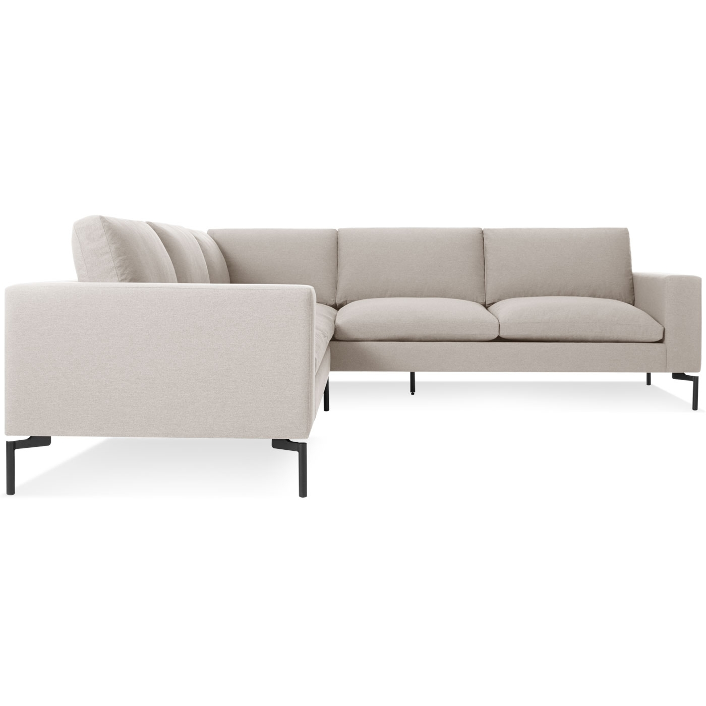 Small Sectional Sofas Within Widely Used New Standard Small Sectional Sofa – Modern Sofas (View 7 of 20)