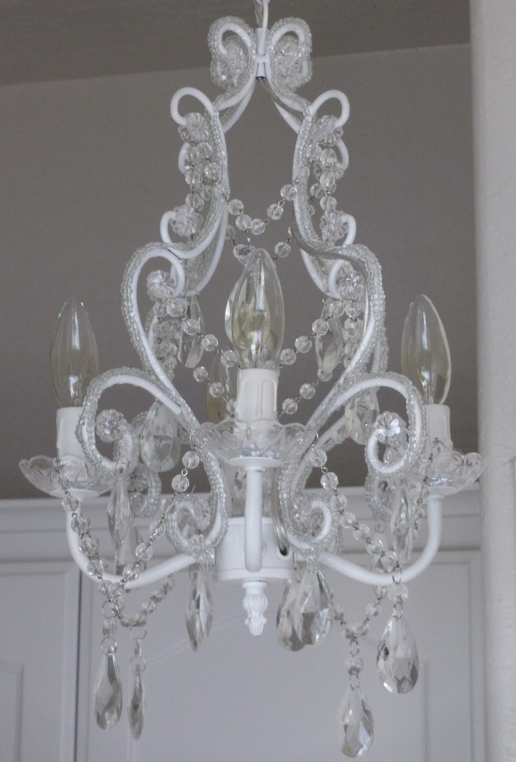 Small Shabby Chic Chandelier Pertaining To Favorite 43 Best Shabby Chic Chandeliers Images On Pinterest (View 15 of 20)