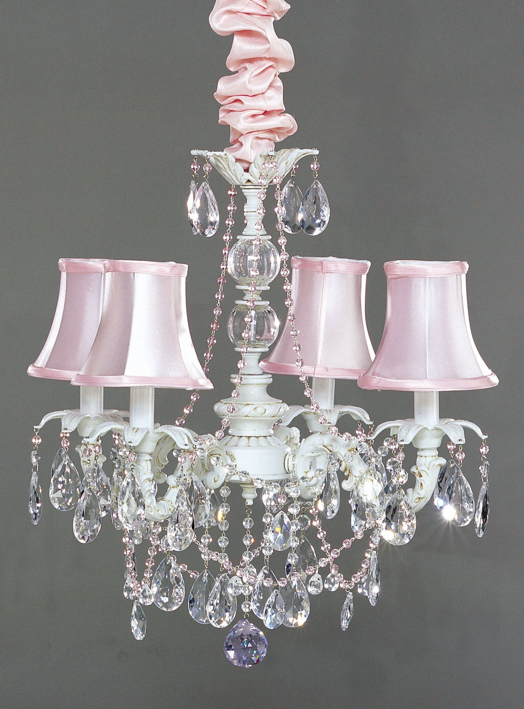 Featured Photo of Small Shabby Chic Chandelier