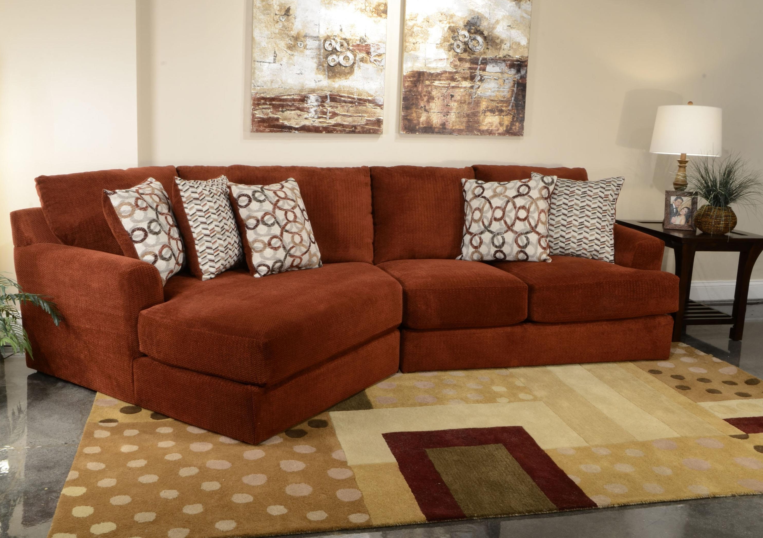 Small Three Seat Sectional Sofajackson Furniture (View 6 of 20)