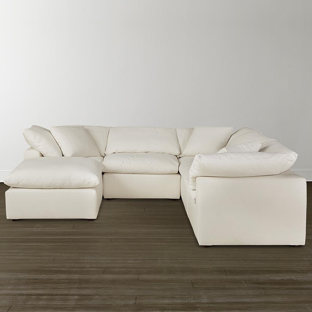 Small U Shaped Sectional Sofas For Latest Envelop Small U Shaped Sectional (View 11 of 20)