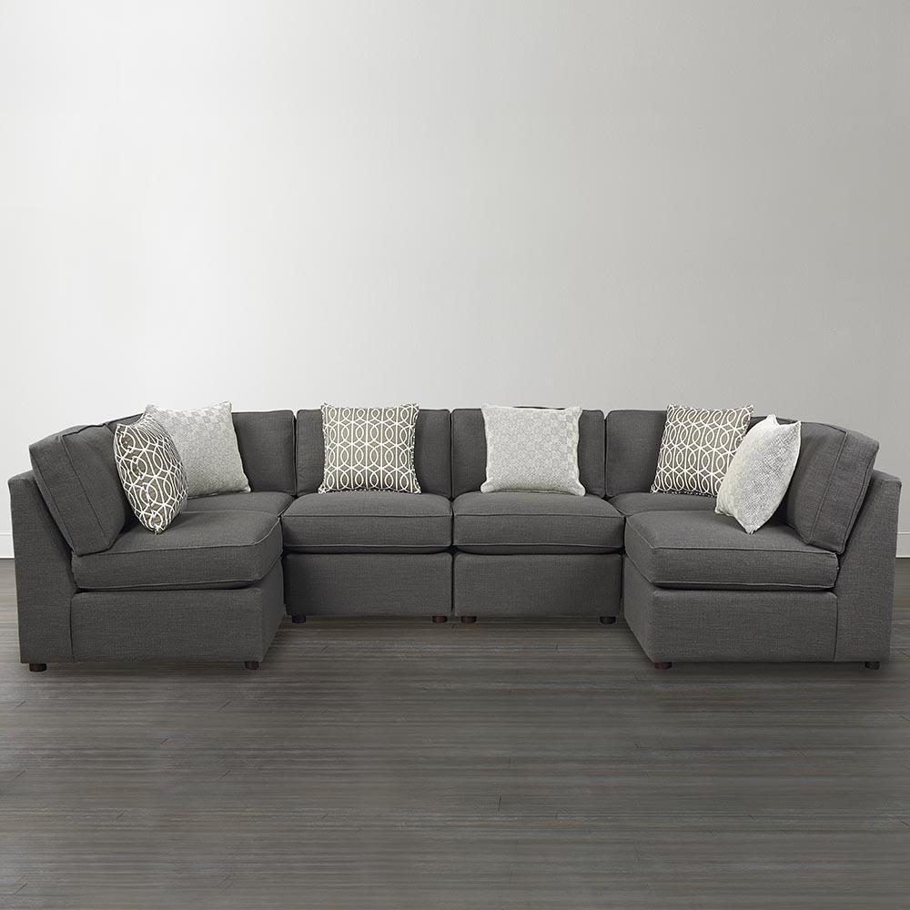 Small U Shaped Sectional Sofas Regarding Popular Furniture: U Shaped Sectional Sofa Small Nice U Shaped Sectional Sofa (View 1 of 20)
