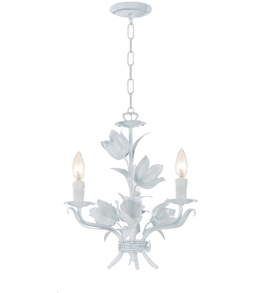 Small White Chandeliers Intended For 2019 White Chandelier – Pixball (View 9 of 20)
