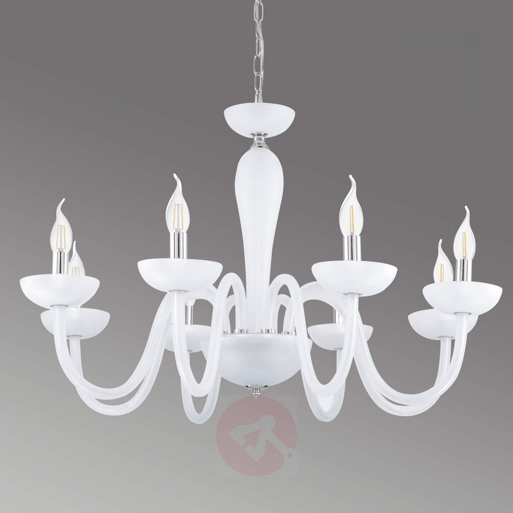 Snow White Falcado Chandelier (View 16 of 20)