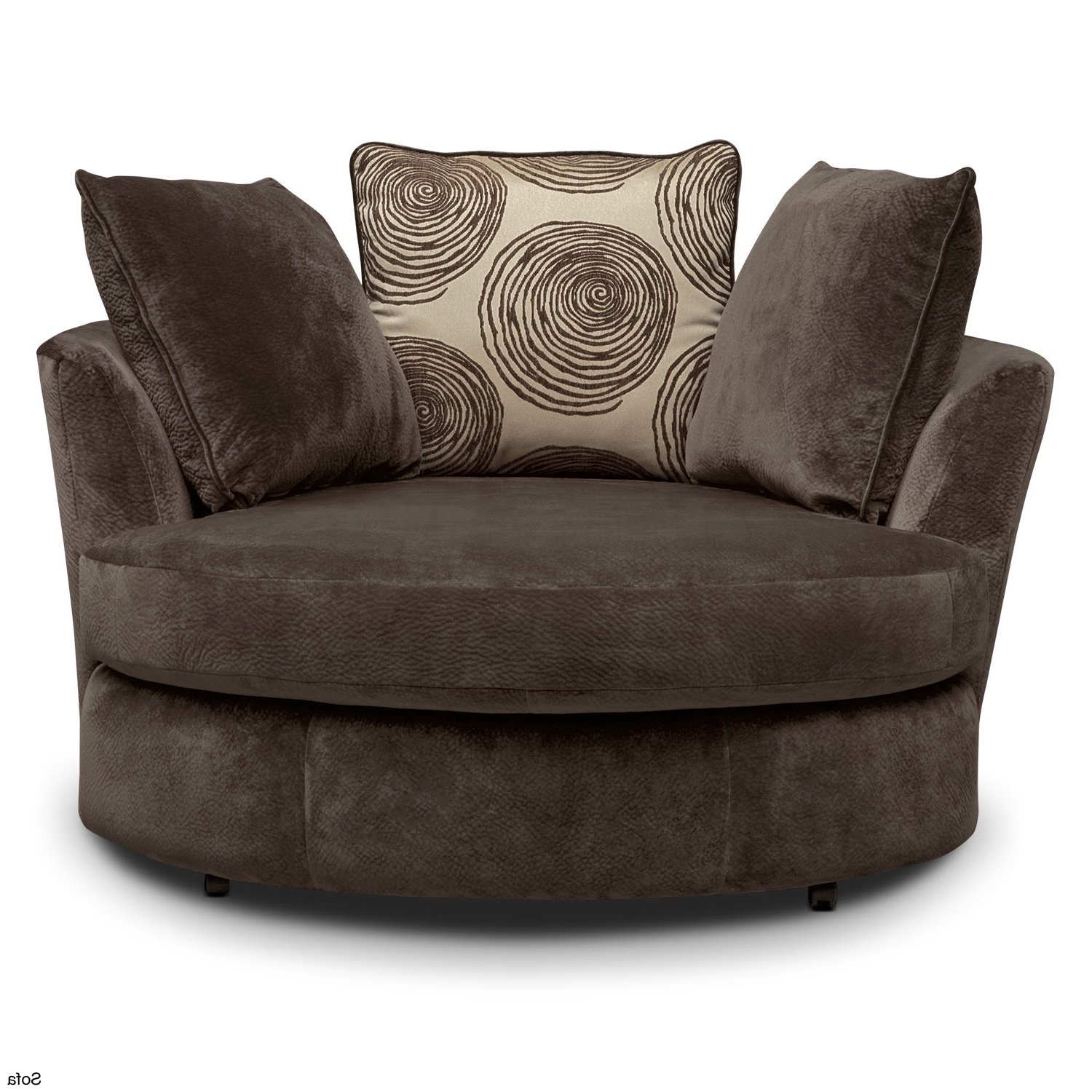 Snuggle Sofas Inside Favorite Leather Swivel Chair Couch Grey Snuggle Sofa And Cuddle Full Size (View 3 of 20)