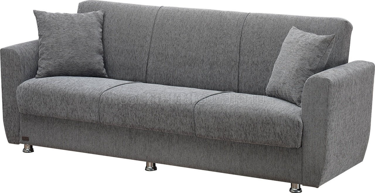 Sofa Bed Convertible In Grey Fabric W/optionsempire For 2019 Niagara Sectional Sofas (View 18 of 20)