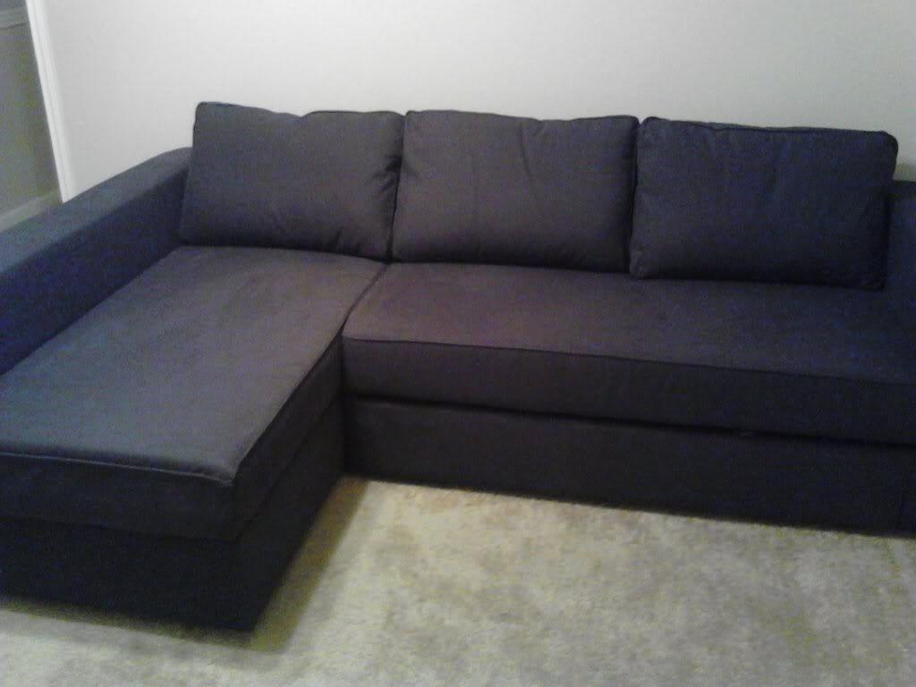 Sofa Bed Design: Månstad Corner Sofa Bed With Storage Classic In Popular Manstad Sofas (View 15 of 20)