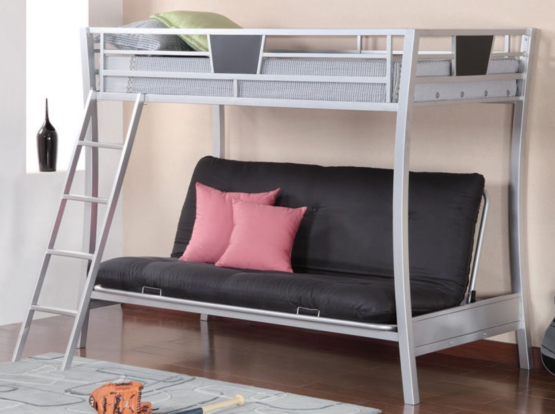 Sofa Bunk Beds Within Most Popular Sofa : Extraordinary Sofa Bunk Bed Transformer With Wonderful (View 17 of 20)