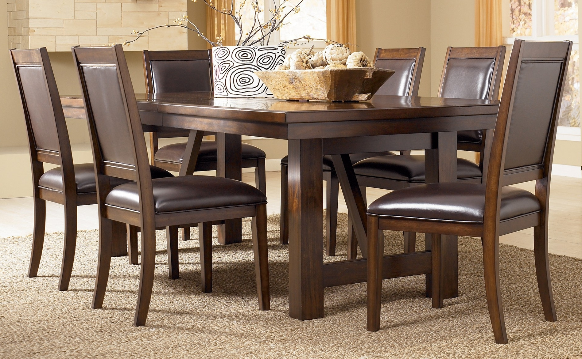 Sofa Chairs With Dining Table Inside Current Emejing Ashleys Furniture Dining Tables Photos – Liltigertoo (View 12 of 20)