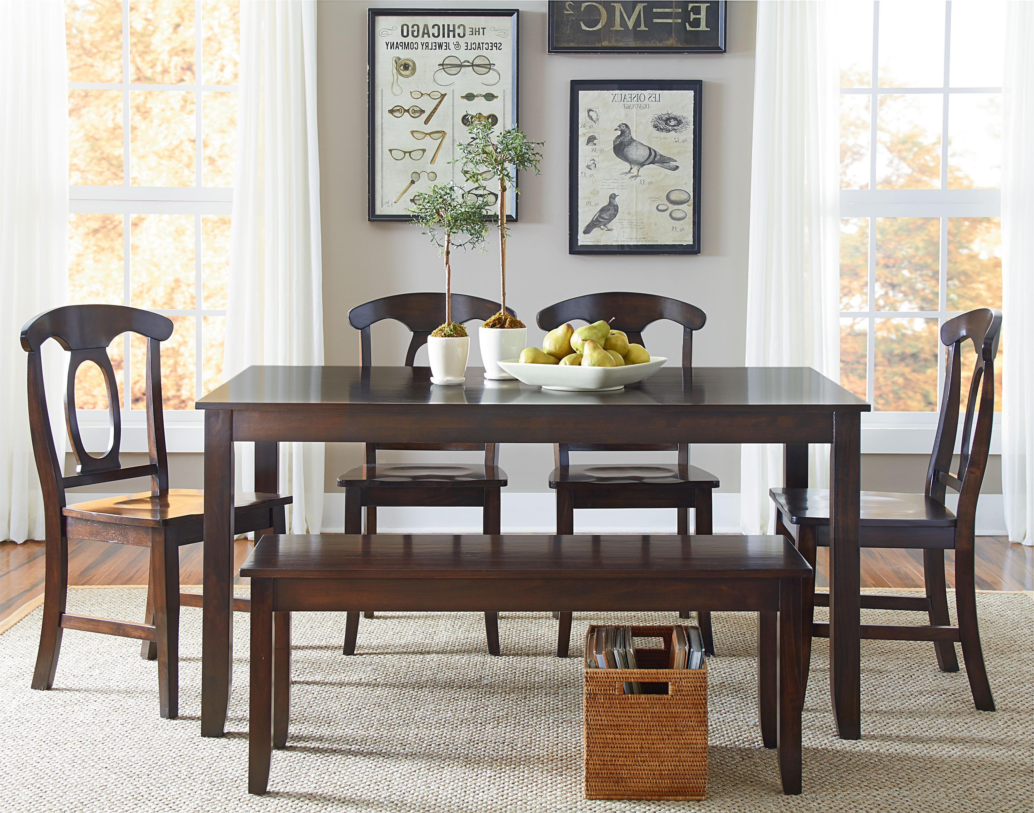 Sofa Chairs With Dining Table Inside Newest Standard Furniture Larkin 6 Piece Dining Table Set With Open Oval (View 15 of 20)