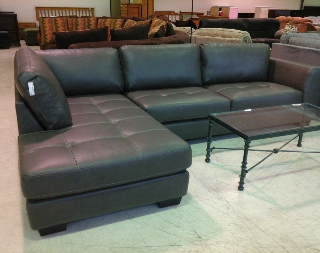 Sofa Closeout Sofas Stimulating Leather Regarding Cur View 15 Of