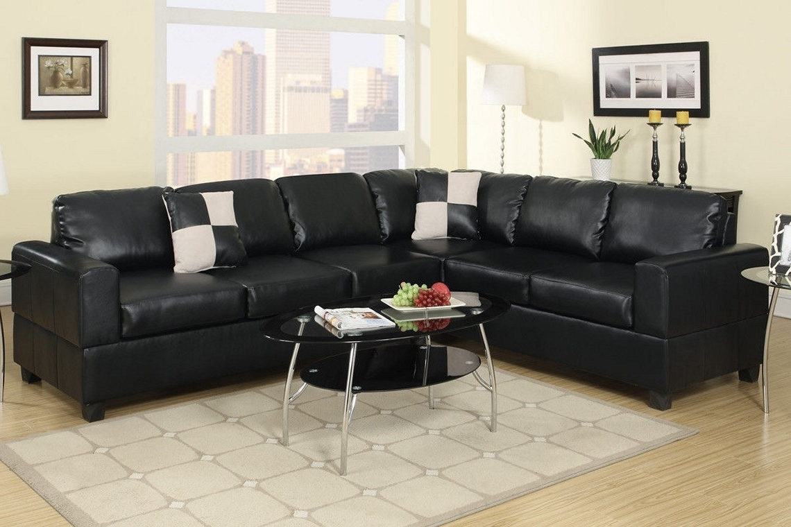 Sofa : Contemporary Sectional With Chaise Leather Reclining Sofa Pertaining To Trendy Sectional Sofas With 2 Chaises (View 17 of 20)