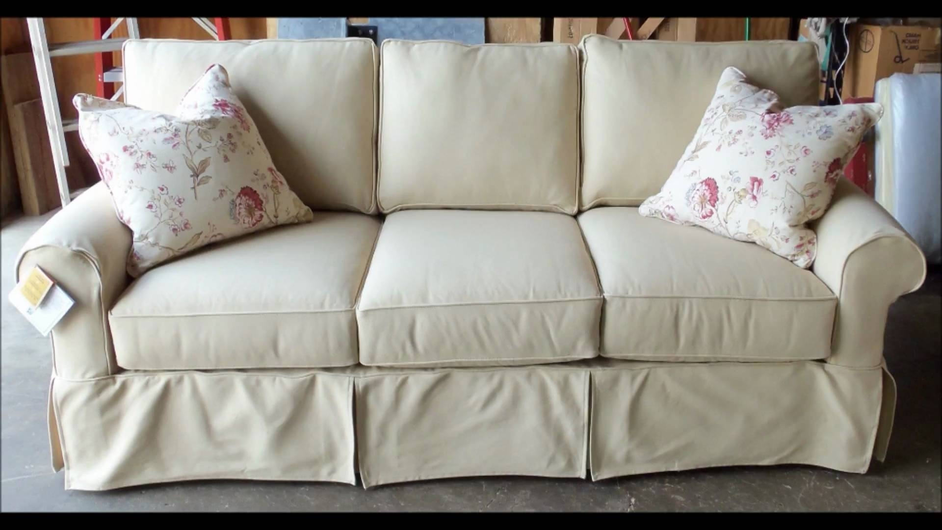 Sofa Covers With Separate Cushion Covers Couch Slipcovers With Regarding Most Current Slipcovers Sofas (View 17 of 20)