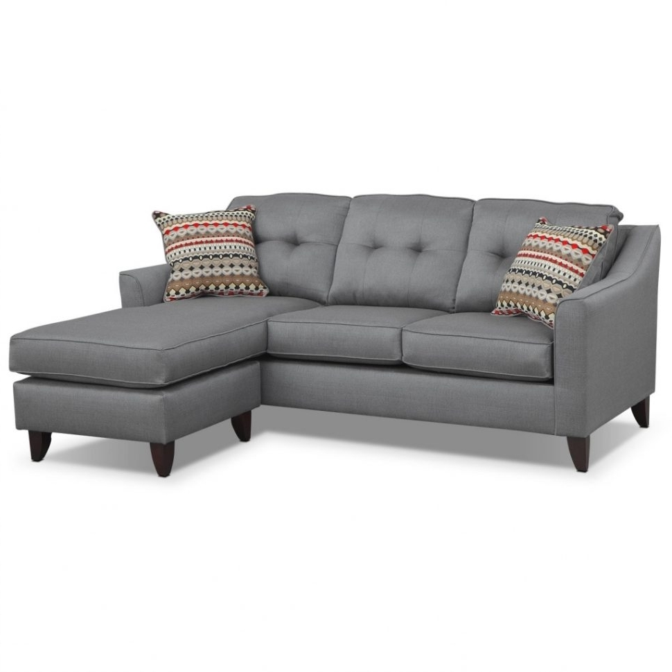 Sofa : Divani Casa Evora Modern Taupe Leather Sofaair Set And In Most Current Clarksville Tn Sectional Sofas (View 17 of 20)