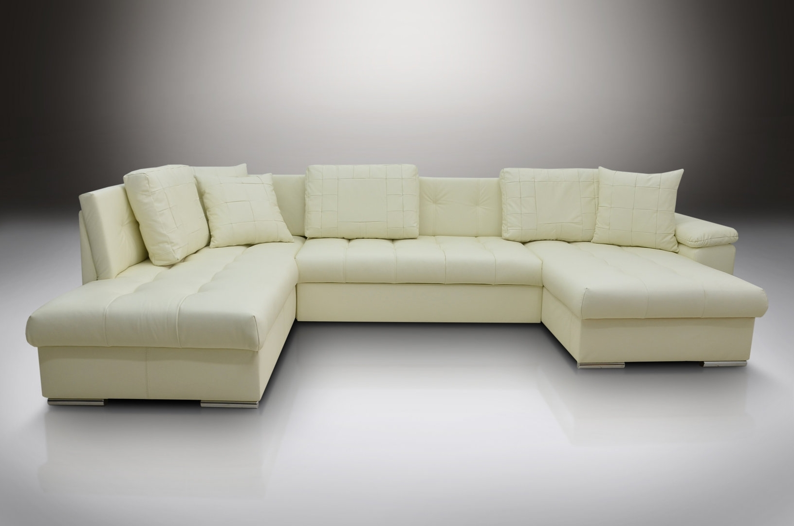 Sofa : Extra Large Sectional Sofas U Shaped Sofa Design In Well Known Blue U Shaped Sectionals (View 19 of 20)