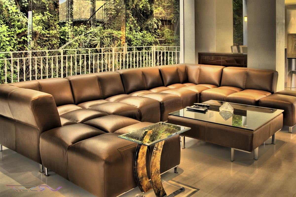 Sofa : Fascinating Large Sectional Sofa Modern Sofas Large For 2019 Large Sectional Sofas (View 16 of 20)