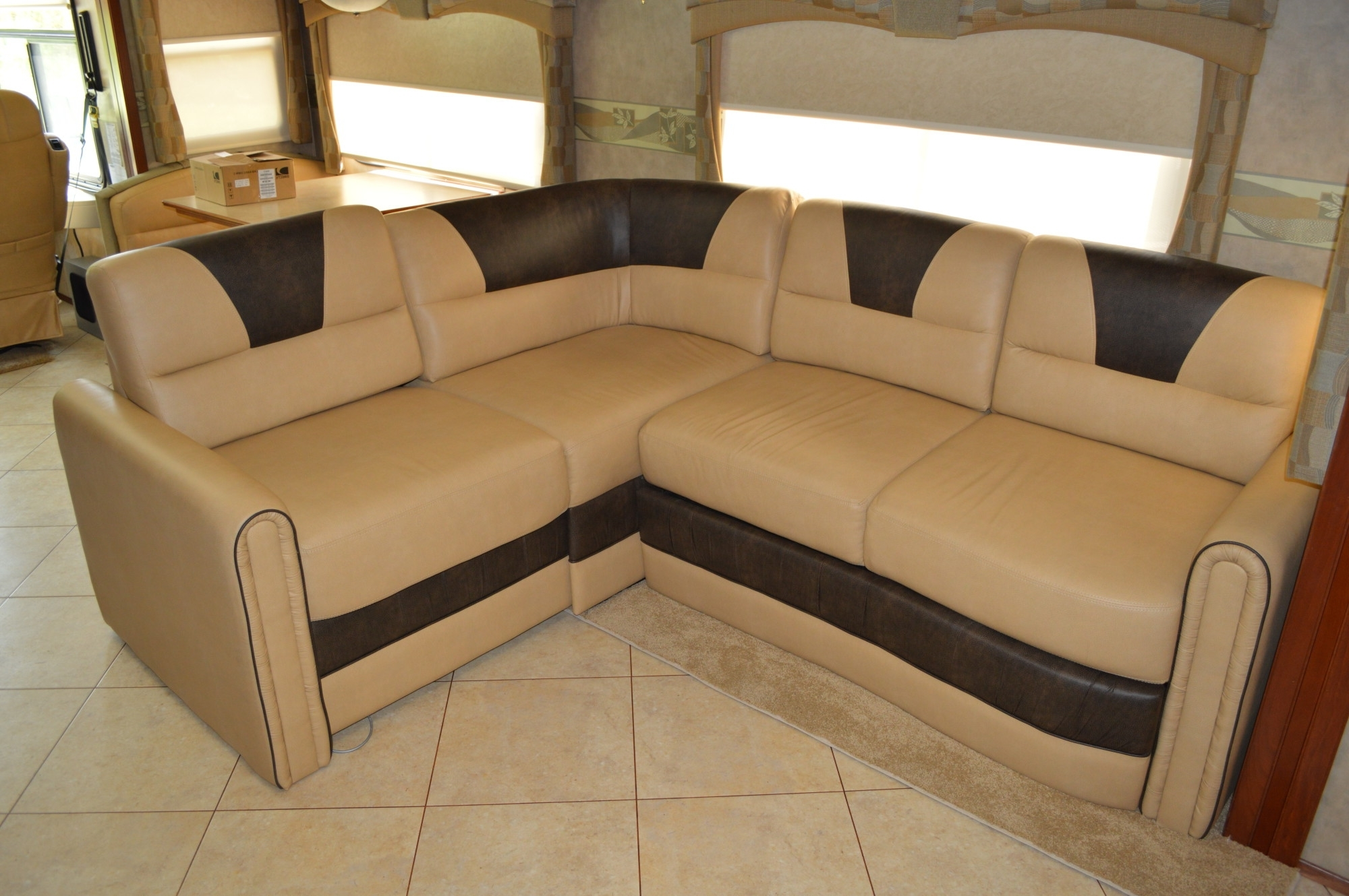 Sofa : How To Make Rv Sofa Bed More Comfortable Rv Sofa Sleeper With Regard To Current Sectional Sofas For Campers (Gallery 4 of 20)