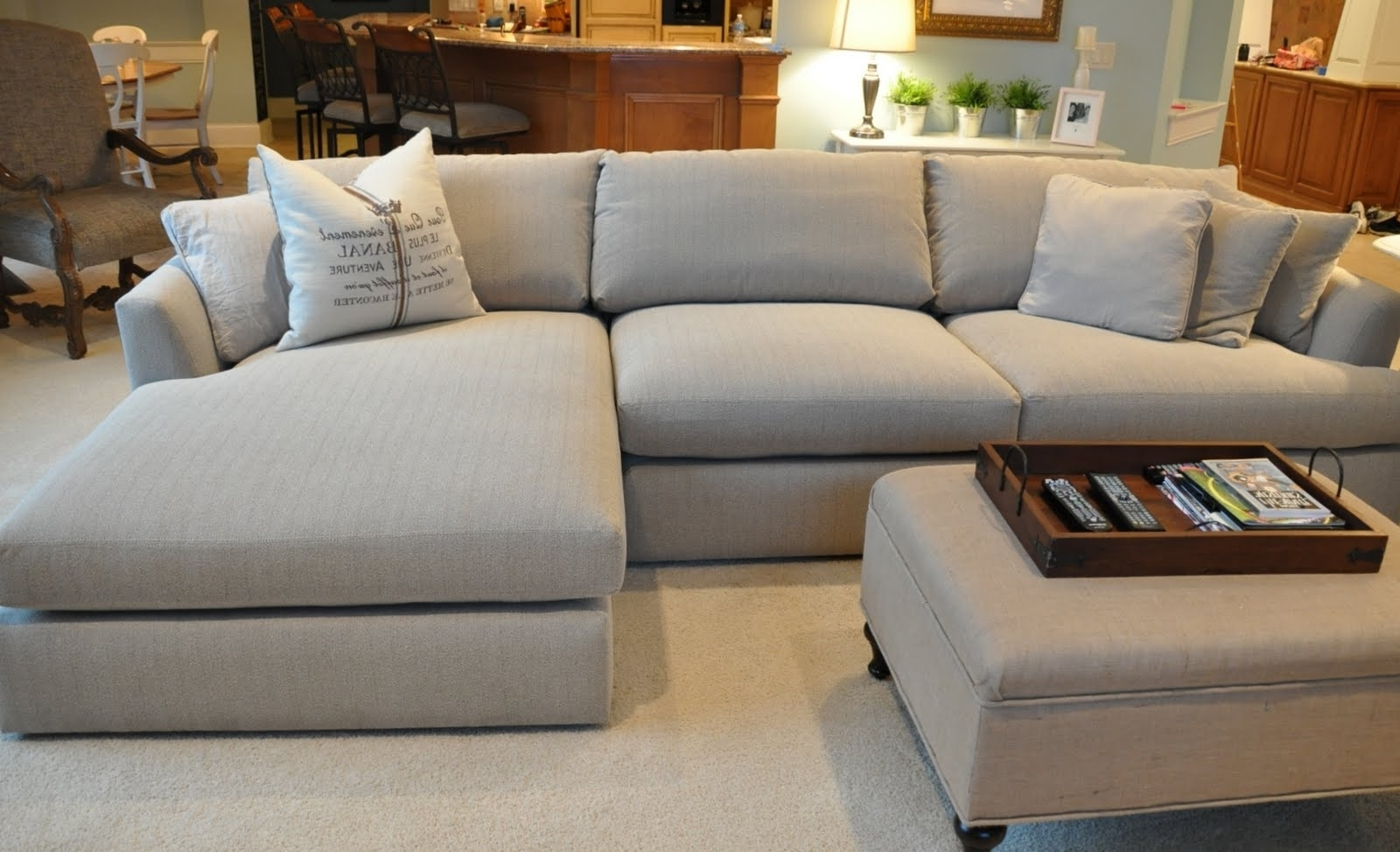 Charming Deep Cushion Sofa #2 - Selection Of Furniture, Feature Lighting, Decoration U0026 Artwork.