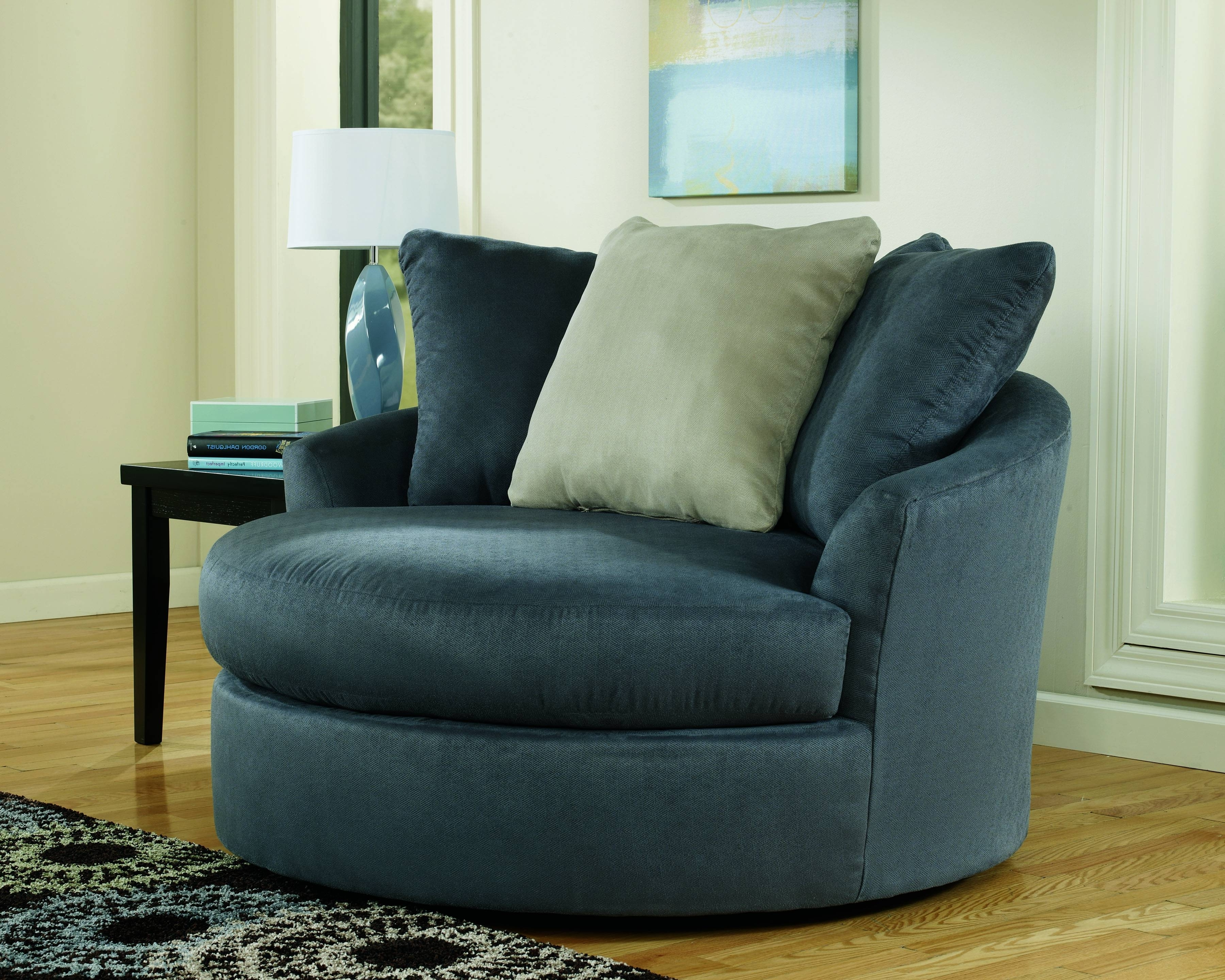 Sofa : Luxury Round Swivel Sofa Chair Latest Large With Crescent Throughout Newest Round Swivel Sofa Chairs (View 18 of 20)