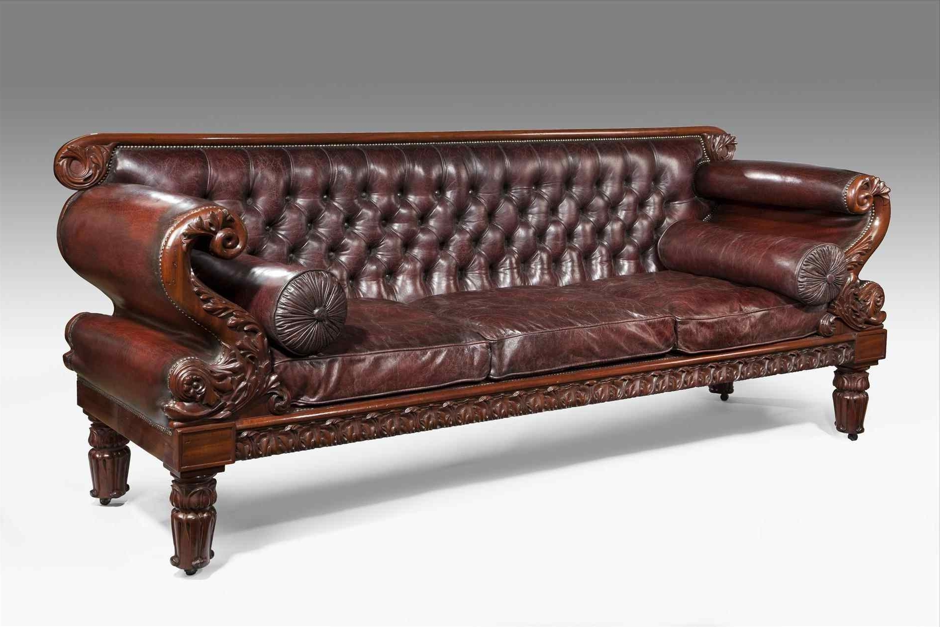 Sofa : Modern Antique Sofa Vintage High Back Armchair Chairs Ideas In Favorite Antique Sofas (View 16 of 20)