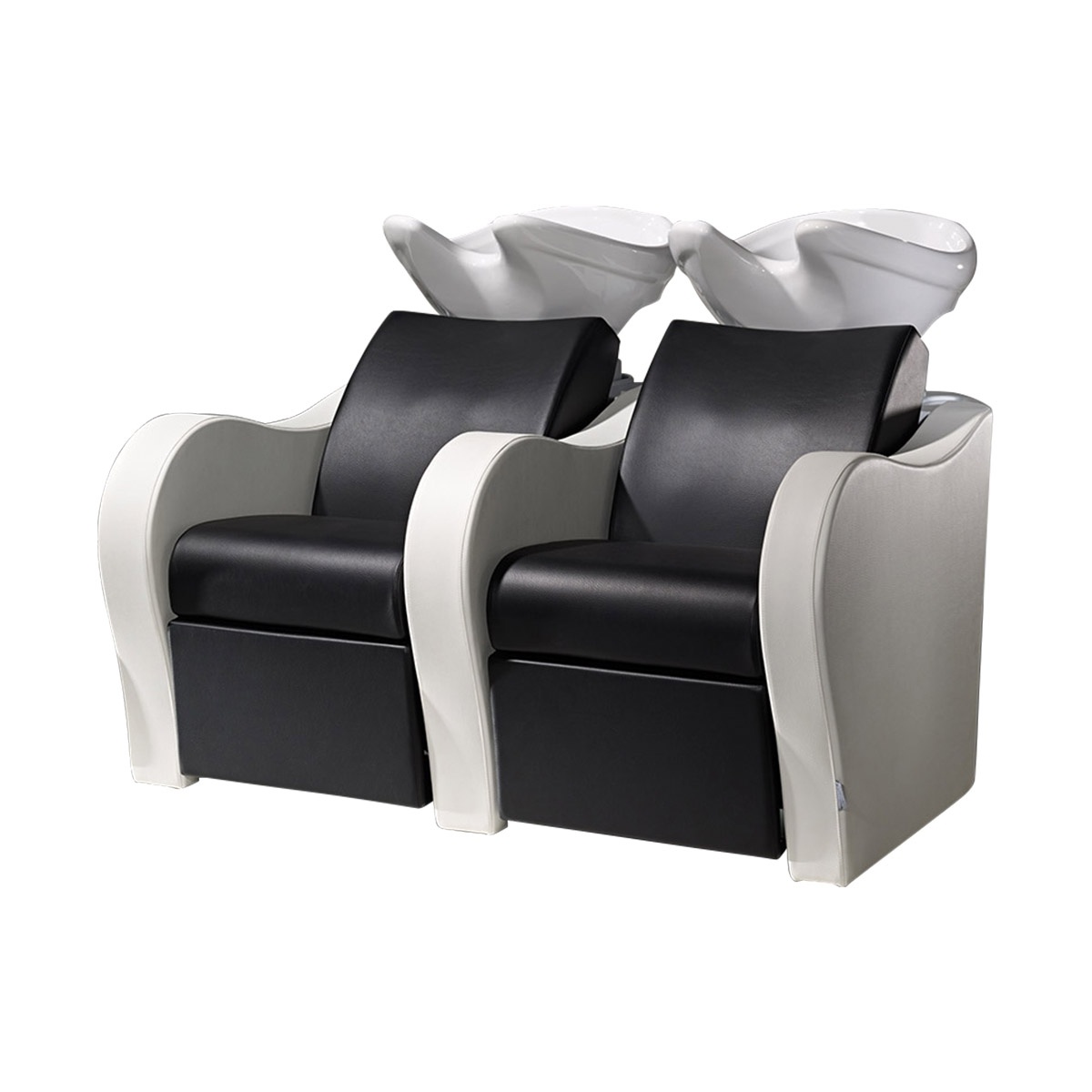 Sofa Pedicure Chairs In Famous Salon Ambience Wu128 Luxury Sofa Salon Sink And 2 Chair Combo (View 12 of 20)