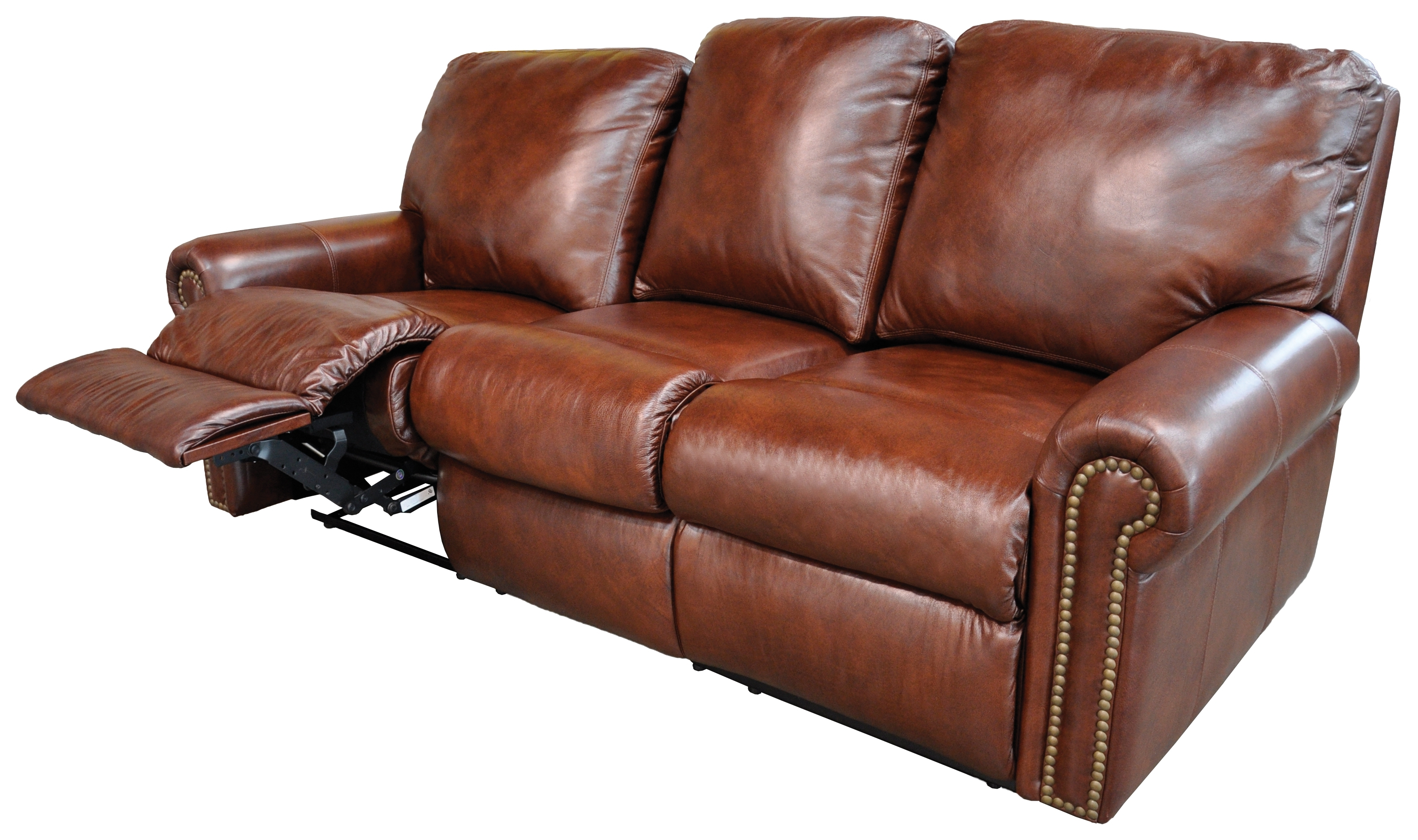 Sofa Recliner Leather – Home And Textiles In Most Popular Modern Reclining Leather Sofas (View 19 of 20)