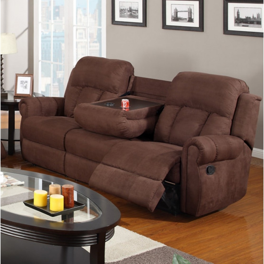 Sofa : Round Sofa Chair With Cup Holder Round Leather Sofa Chair With Regard To Popular Sectional Sofas With Cup Holders (View 15 of 20)